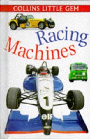 9780001979277: Racing Machines (Little Gems)