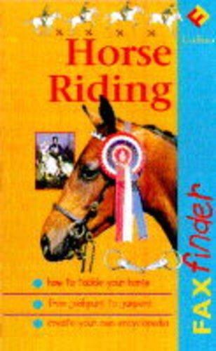 9780001979352: Horse Riding (Faxfinder)