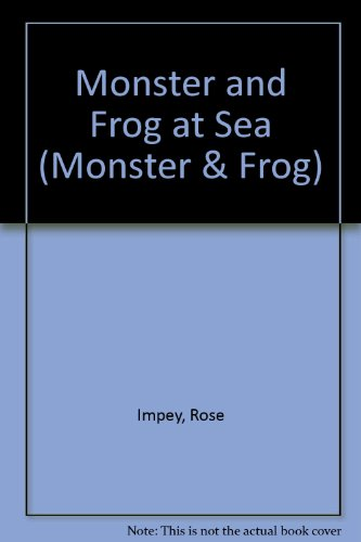 9780001980518: Monster and Frog at Sea (Monster & Frog)