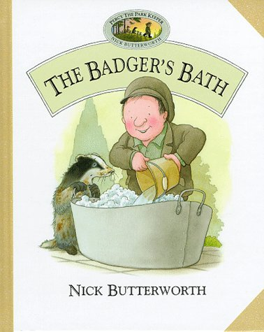 9780001981324: The Badger's Bath (Percy the Park Keeper) (Percy's park)