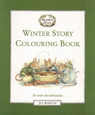 9780001982178: Brambly Hedge - Winter Story Colouring Book