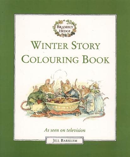 9780001982178: Winter Story: Colouring Book