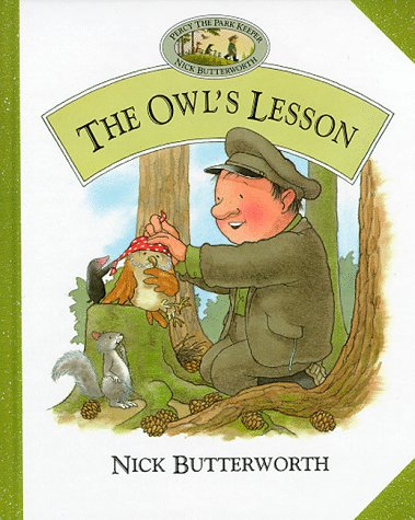 9780001982772: The Owl's Lesson (Percy the Park Keeper)