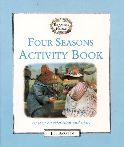 9780001982802: Brambly Hedge: Four Seasons Activity Book