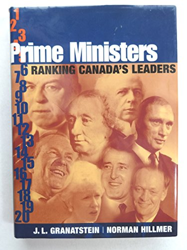 9780002000277: Prime Ministers: Ranking Canada's Leaders (Phyllis Bruce Books)