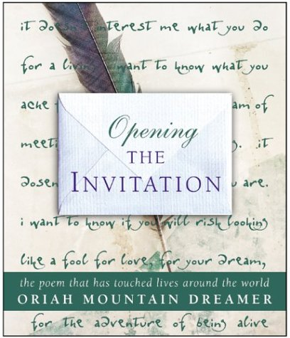 9780002007856: OPENING THE INVITATION