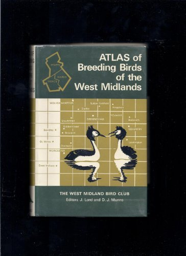 9780002110402: Atlas of Breeding Birds of the West Midlands