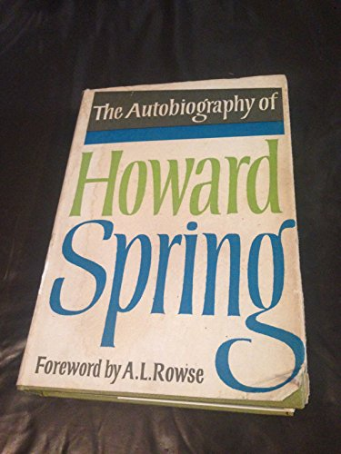 9780002110501: The Autobiography of Howard Spring