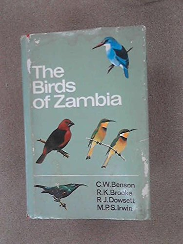9780002110976: The Birds of Zambia