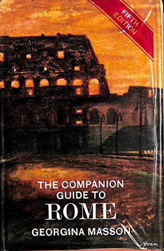 9780002111300: Companion Guide to Rome (Companion Guides)