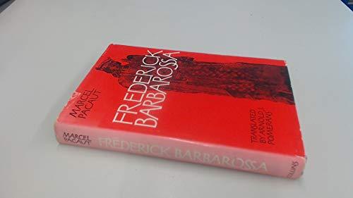 9780002112680: Frederick Barbarossa