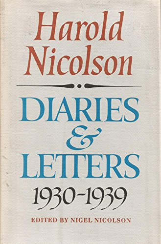 9780002113168: Diaries and Letters 1930-1939