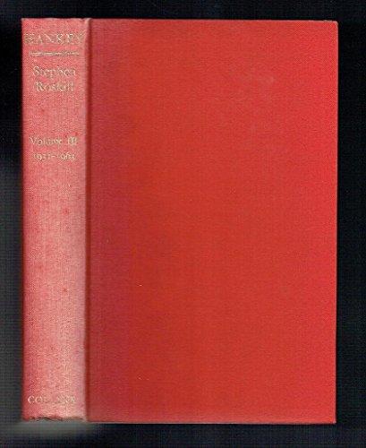 9780002113328: Hankey: Man of Secrets Volume 3 1931-1963