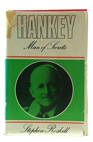 9780002113328: Hankey: v. 3: Man of Secrets