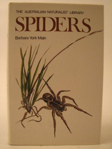 Spiders (The Australian naturalist library): Main, Barbara York