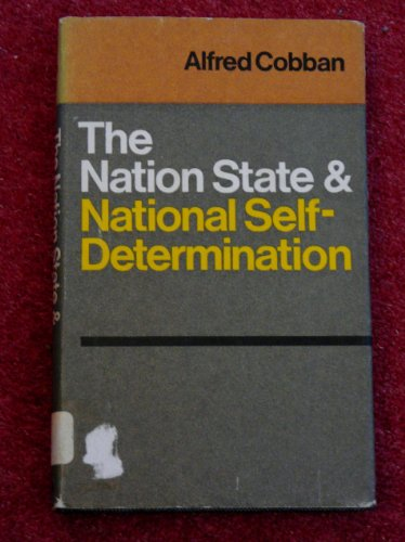 9780002115599: Nation State and National Self-determination