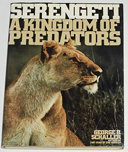 9780002117470: Serengeti: Kingdom of Predators