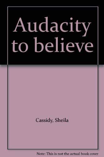 9780002118583: Audacity to believe
