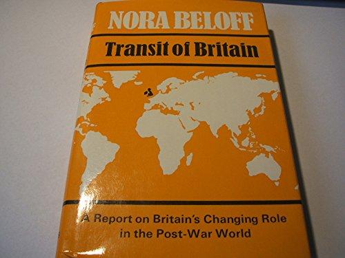 9780002119436: Transit of Britain