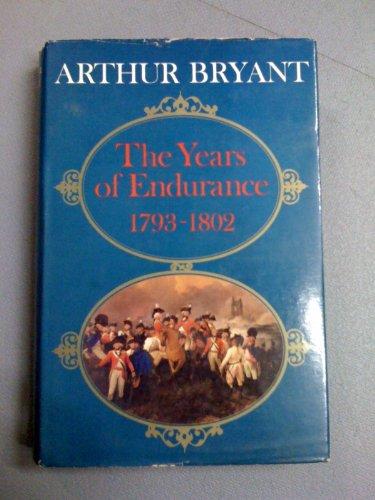 9780002119566: Years of Endurance, 1793-1802