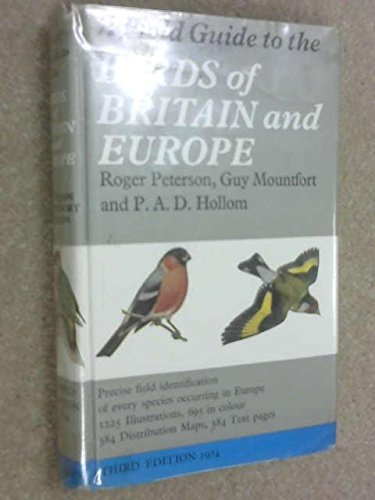 9780002120203: A field guide to the birds of Britain and Europe,