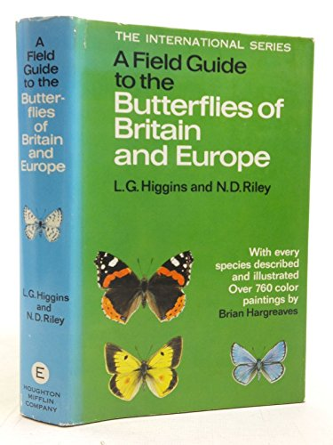 9780002120289: Field Guide to the Butterflies of Britain and Europe