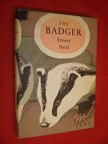 9780002130288: The Badger (Collins New Naturalist Series)