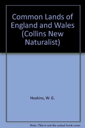 9780002130455: Common Lands of England and Wales (Collins New Naturalist)