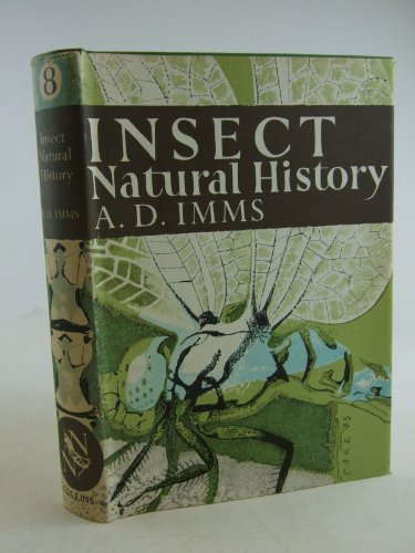 9780002131025: Insect Natural History (Collins New Naturalist)