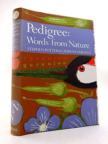 9780002131797: Pedigree: Essays on the Etymology of Words from Nature