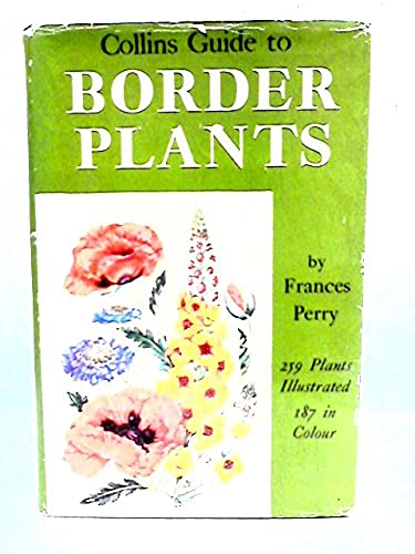 9780002140157: Guide to Border Plants