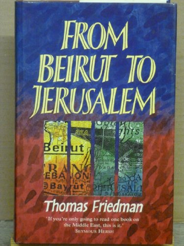 9780002150965: From Beirut to Jerusalem
