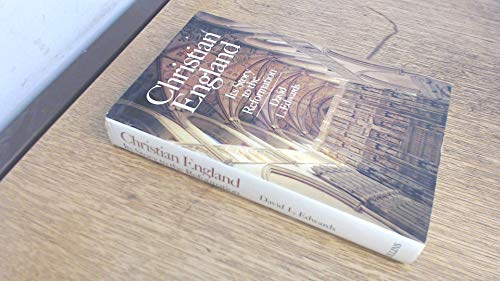 9780002152129: Christian England: Its Story to the Reformation v. 1