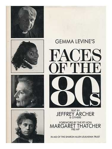 9780002152457: Gemma Levine's Faces of the 80's