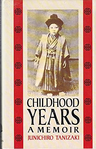 9780002153256: Childhood Years. A Memoir