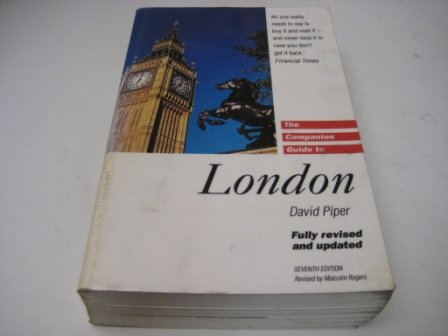 9780002153874: The Companion Guide to London (Companion Guides)