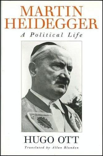 9780002153997: Martin Heidegger: A Political Life.