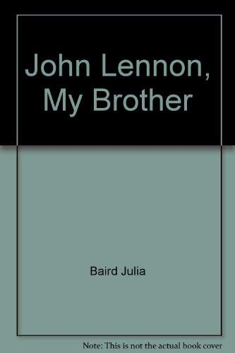JOHN LENNON : My Brother ( Signed )