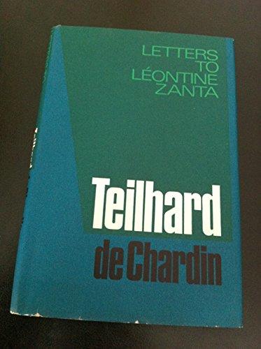 9780002154574: Letters to Leontine Zanta