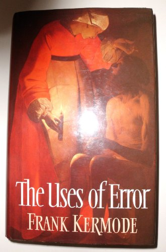 9780002154659: The Uses of Error