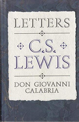 9780002154802: Letters to Don Giovanni Calabria (Latin and English Edition)