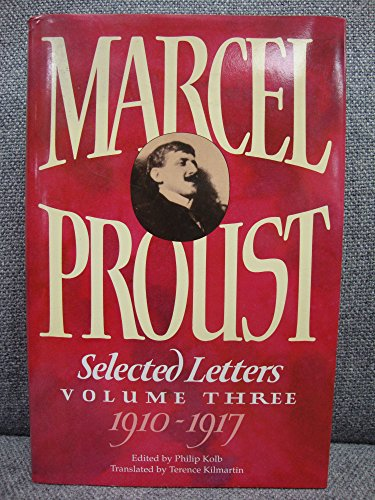 9780002155410: Selected Letters of Marcel Proust: Volume Three: v. 3