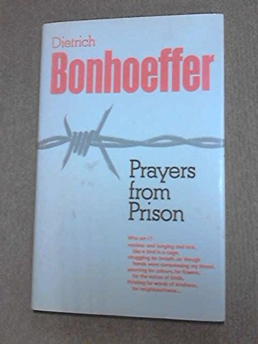 9780002156554: Prayers from Prison