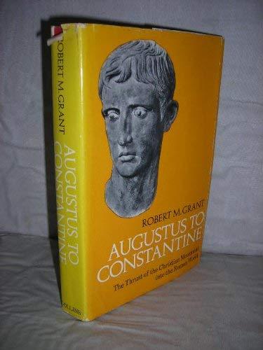 9780002157667: Augustus to Constantine