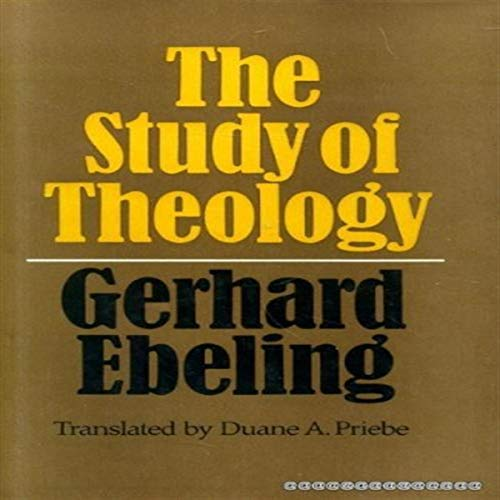 9780002157803: Study of Theology