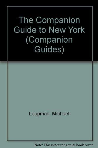 9780002159524: The Companion Guide to New York (Companion Guides)