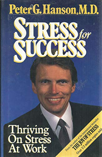 9780002159685: Stress for Success