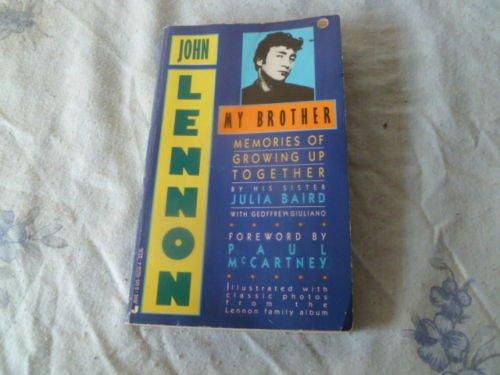 9780002159807: John Lennon, My Brother