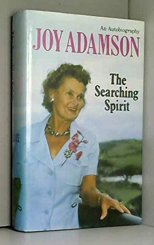 9780002160353: The searching spirit: An autobiography