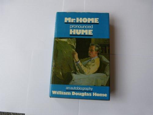 9780002160766: Mr. Home Pronounced Hume